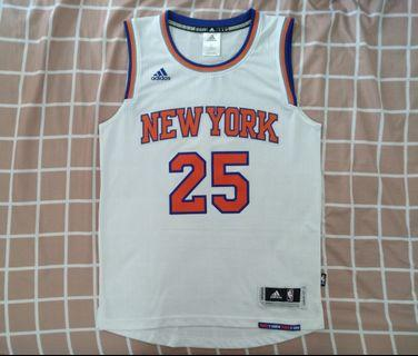 New Adidas New York Knicks Derrick Rose Swingman Jersey Size S