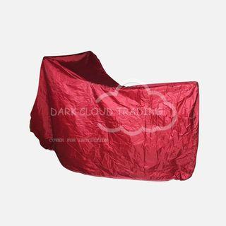 [DARK CLOUD - STANDARD] (2 BELT LOCK) MOTORCYCLE/MOTOR/BIKE COVER ✔️HIGH QUALITY ▶️EXTRA THICK CARRY BAG ✔️WATERPROOF ▶️UV ✔️ANTI-DUST ▶️ANTI-SCRATCH