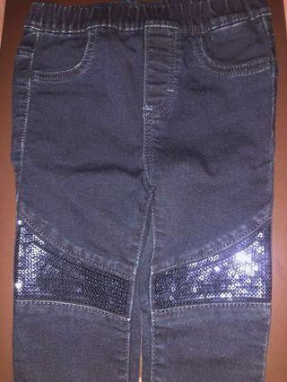 Toddler Sequins Jeans for Girls