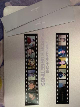 Wanna One Season Greetings Film Strip