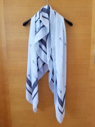 Juicy Couture Scarf 方形頸巾