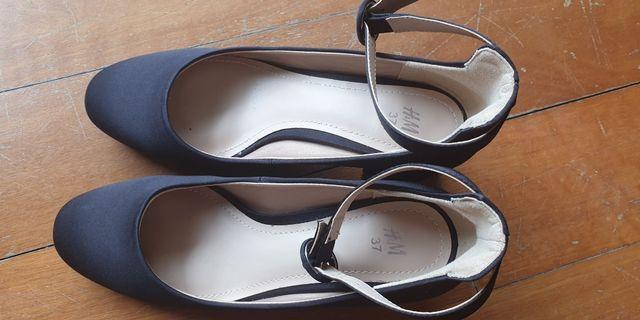 H&M Black block heels
