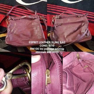 Esprit Leather Sling bag
