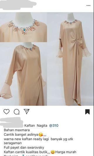 Kaftan payet dress lebaran