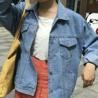 [PO] KOREAN STYLE DENIM JACKET
