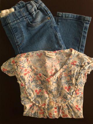 Toddler Top & Jeans