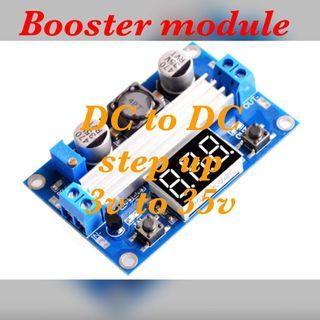 Dc booster step up module
