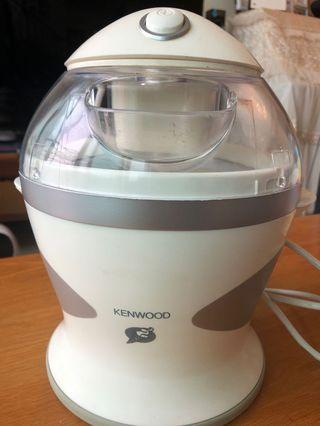 Kenwood ice cream gelato maker