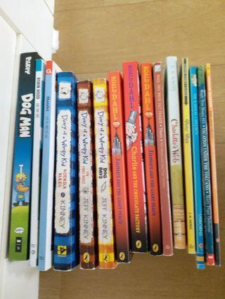 英文書 適合小學生 共15本