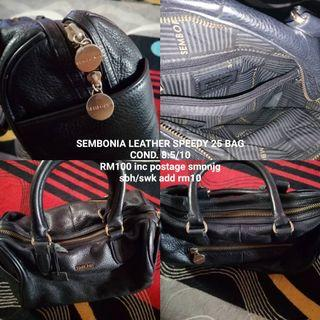 Sembonia Leather Speedy 25bag