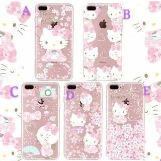 Hello Kitty 透明軟殼 ~ Huawei, iPhone, Samsung, 小米