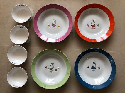 Miffy 碗碟