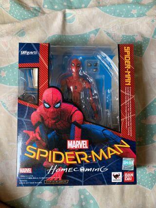 行版已開 SHF Spider Man homecoming 蜘蛛俠 avengers 復仇者