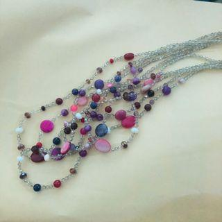 🚚 Crystal chain long