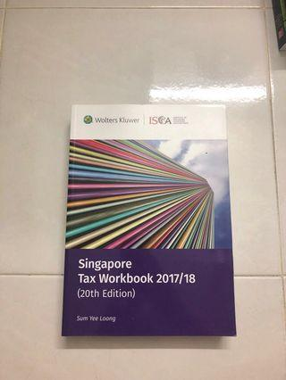 [RESERVED] ISCA Singapore Tax Workbook 2017/18 (20th Edition)