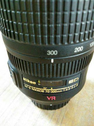 Nikon AFS 70-300 VR lens
