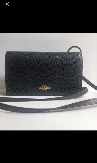 Coach F15620 Foldover Crossbody Clutch