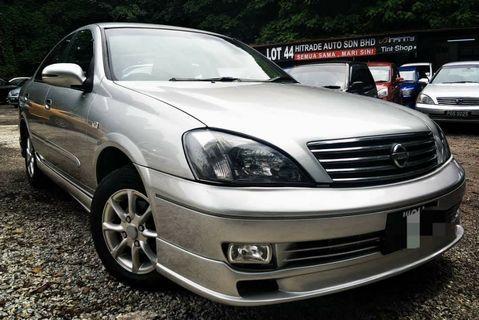 2010 Nissan SENTRA 1.6 (A) dp 2990 B/list boleh LOAN KEDAI KERETA.
