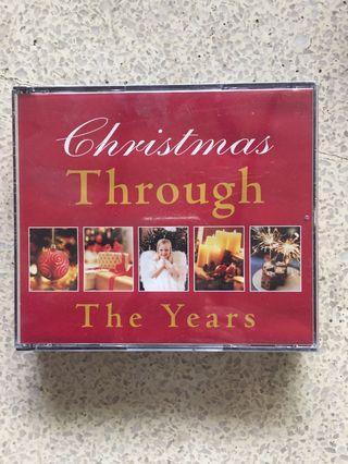 Audio CDs - Christmas Through the Years