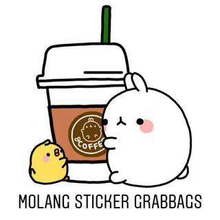[LAST 1 PENDING] Molang Sticker Grabbag