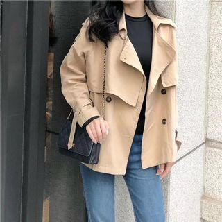 Khaki blazer/ parka outerwear (BN)
