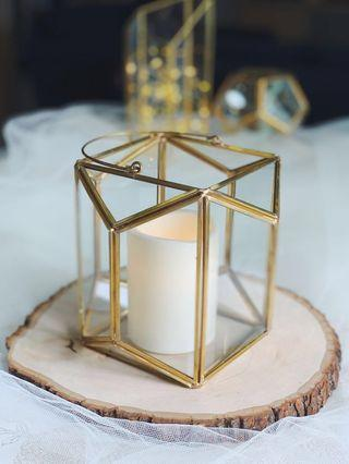 [For Rent] Geometric Candle Holder