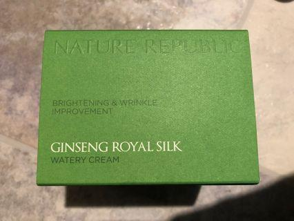Nature Republic Ginseng Royal Silk watery cream - brightening & wrinkle improvement