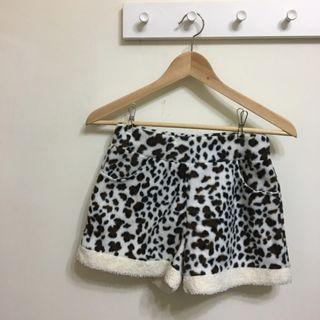 動物紋毛褲