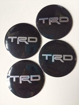 Toyota TRD Rim Cap Sticker