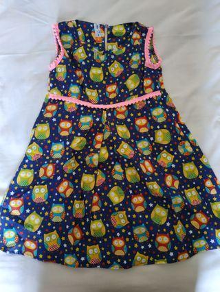 Dress motif Owl