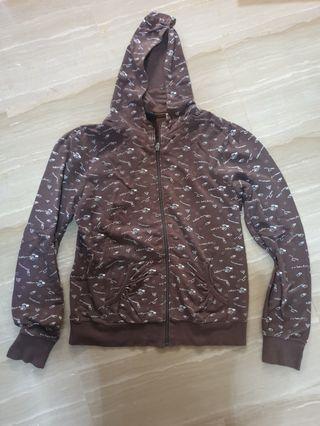 Kids Size XL Brown jacket (Fits adult size S)