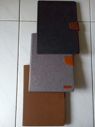 Ipad Magnetic Flip Case Brown/Black/Grey with Free Mail