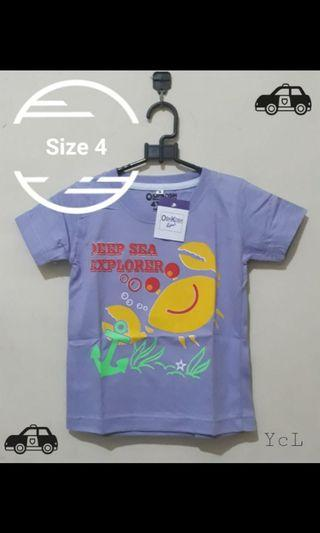 Kaos anak OshKosh #Bapau giveaway