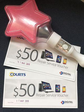 Courts Repair Service Voucher