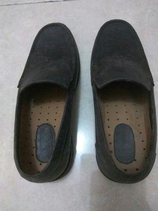 #mauthr sepatu Formal coklat bahan kukit