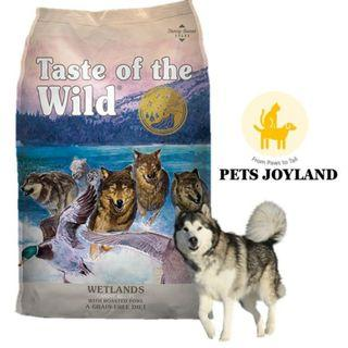 Taste of the Wetland Roasted Fowl Dog dry Food 2kg