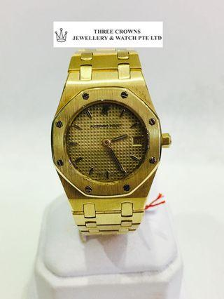 AP solid yellow gold ladies