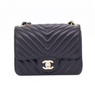 (NEW) CHANEL A35200 Y33122 CLASSIC CC MINI SQUARE FLAP BAG LAMBSKIN 17CM SHOULDER BAGS GBHW