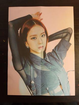 WTT — Jisoo KTL poster pink version