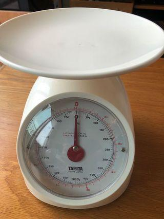 Tanita kitchen scale