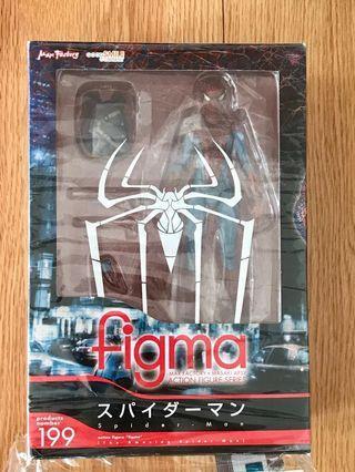 已開封 日版 Figma 199 蜘蛛俠 The Amazing Spiderman (新淨,齊件,關節良好)