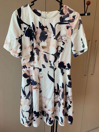 Showpo Floral Dress- size 10