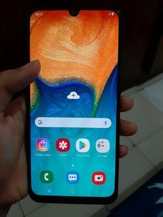 Samsung A30 mulus,baru pakai 2 minggu