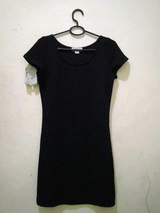 #BAPAU Dress Hitam
