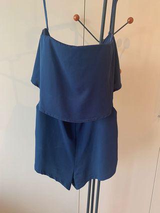 Gorgeous royal blue playsuit- size 10