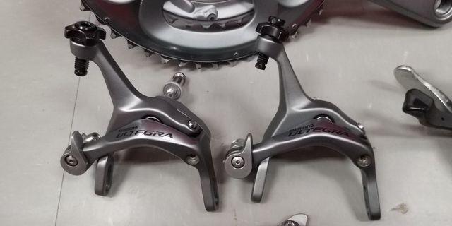 Shimano Ultegra 6700 前後夾器一對連剎車皮