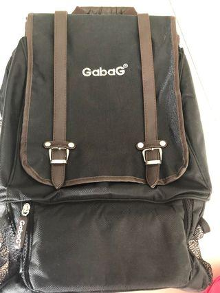Perloved - Cooler Bag Gabag Backpack Calmo Black - perfect for working mom
