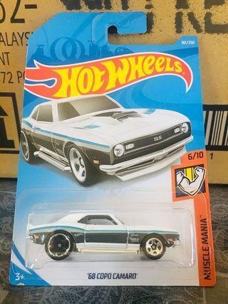 Hotwheels '68 Copo Camaro