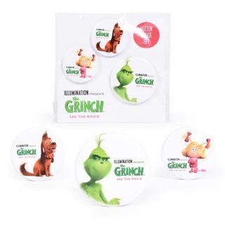 The Grinch Button Badge Set #homerefresh30