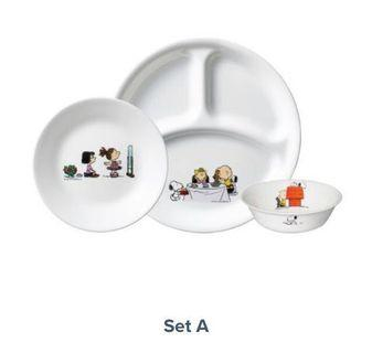 Pre-order BNIB Snoopy Corelle & Pyrex Kitchenware (price list per description)